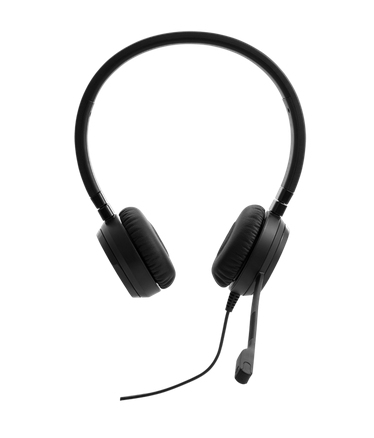 Lenovo Pro Wired Stereo VOIP Headset Head-band 3.5 mm connector Black