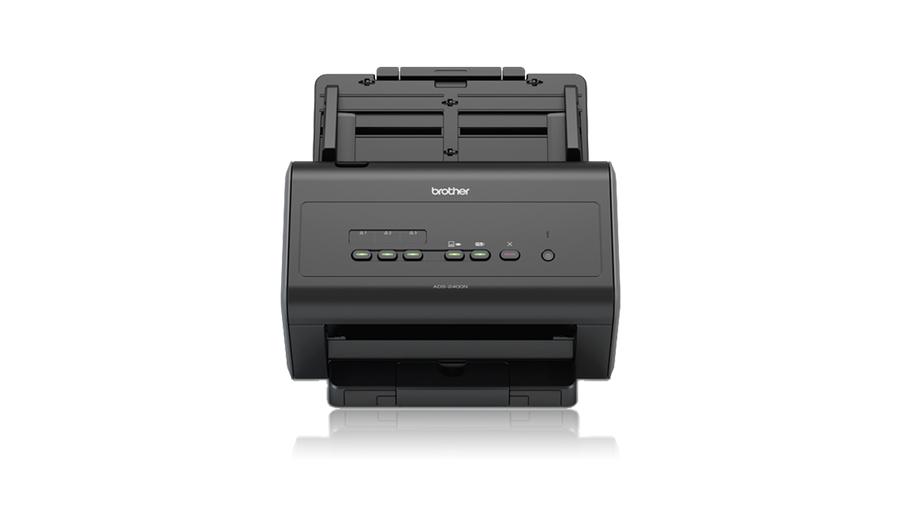 Brother ADS-2400N ADF scanner 600 x 600DPI A4 Black scanner