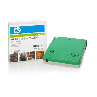Hewlett Packard Enterprise LTO4 Ultrium 1.6TB WORM LTO 1.27 cm