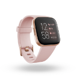 "Fitbit Versa 2 3.55 cm (1.4"") 40 mm AMOLED Black, Rose gold"