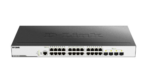 D-Link DGS-3000-28X network switch Managed L2 Gigabit Ethernet (10/100/1000) Black 1U