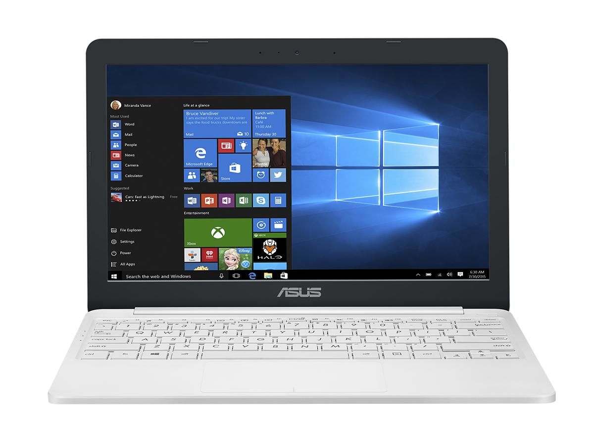 "ASUS VivoBook E203NA-FD020TS 1.1GHz N3350 11.6"" 1366 x 768pixels White Notebook"
