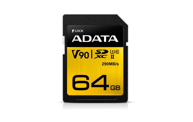 Sdxc Uhs-ii Cl10 U3 64GB Sd V90 4k/8k