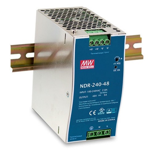 D-Link DIS-N240-48 power supply unit 240 W Stainless steel