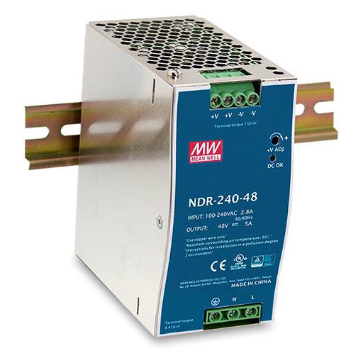 D-Link DIS-N240-48 unidad de fuente de alimentación 240 W Acero inoxidable