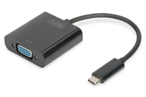 Digitus DA-70853 USB graphics adapter 1920 x 1080 pixels Black