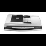 Plustek SmartOffice PL4080 ADF Flatbed & ADF scanner 600 x 600 DPI A4 Black, Grey
