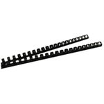 GBC CombBind Binding Combs 14mm Black (100)