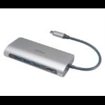 Akasa AK-CBCA15-18BK interface hub USB 3.0 (3.1 Gen 1) Type-C 5000 Mbit/s Aluminium,Black