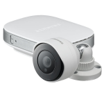 Samsung SNH-E6440BN IP security camera Outdoor Bullet White