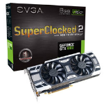EVGA 08G-P4-6583-KR GeForce GTX 1080 8GB GDDR5X graphics card