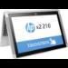"""HP X2 210 G2 1.44GHz x5-Z8350 10.1"""" 1280 x 800pixels Touchscreen Silver"""
