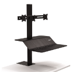 Fellowes 8082001 desktop sit-stand workplace