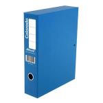 Rexel Colorado A4 Lockspring Box File Blue (5)