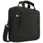 "Case Logic Huxton HUXA-115 Black notebooktas 39,6 cm (15.6"") Aktetas Zwart"
