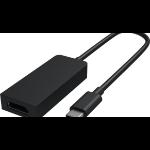 Microsoft HFM-00007 Adaptador gráfico USB Negro