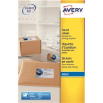 Avery J8169-25 addressing label