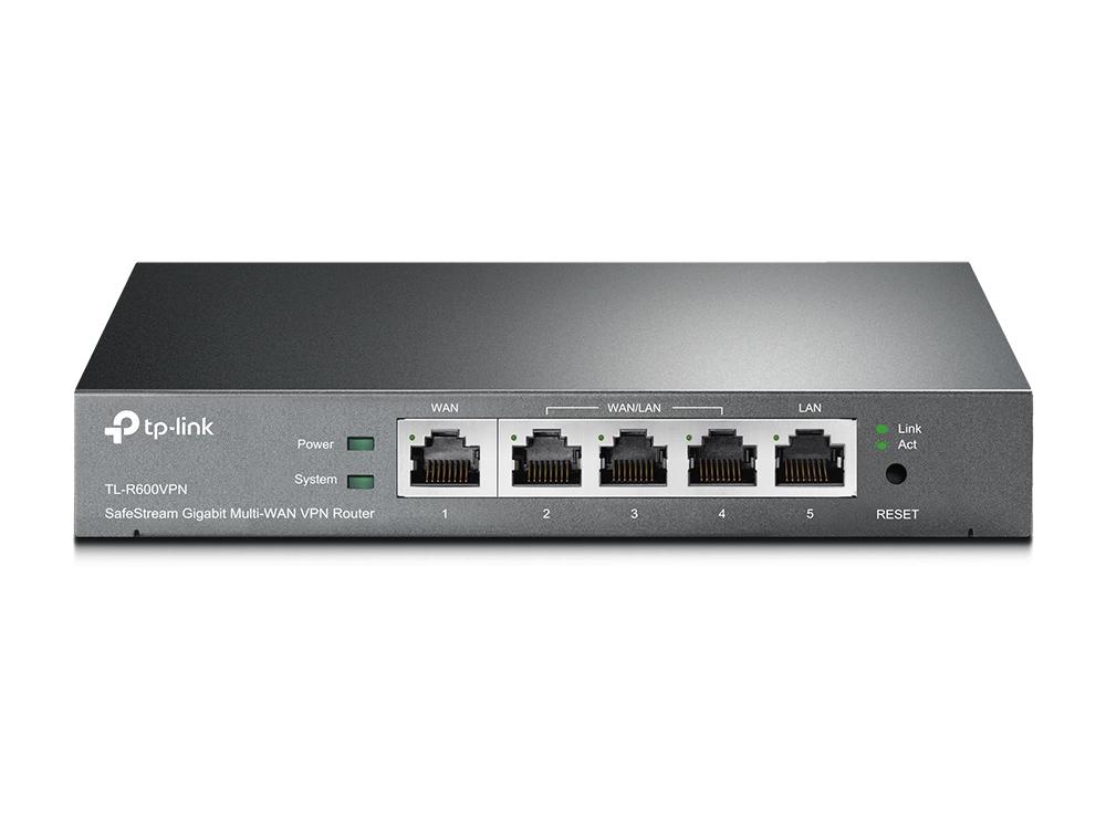 TP-LINK TL-R600VPN router Gigabit Ethernet Azul