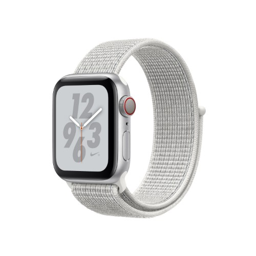 Apple Watch Nike+ Series 4 smartwatch Silver OLED Cellular GPS (satellite)
