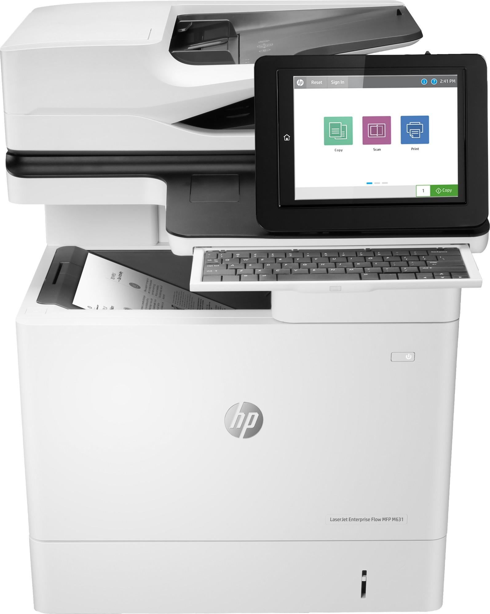 HP LaserJet M631h 1200 x 1200DPI Laser A4 52ppm