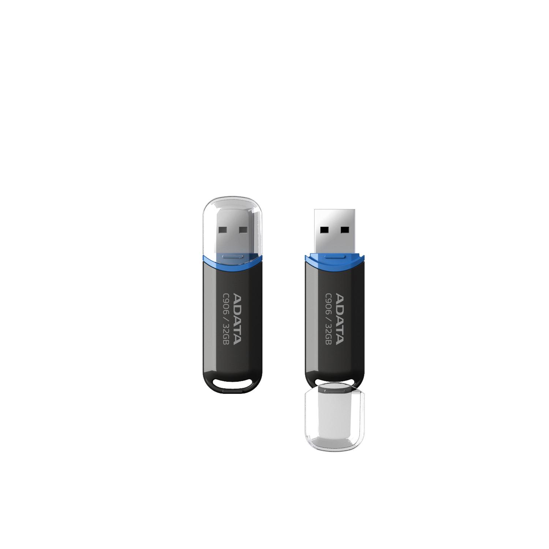 ADATA 32GB C906 32GB USB 2.0 Type-A Black USB flash drive