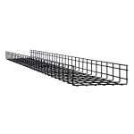 Tripp Lite SRWB12410STR cable tray Straight cable tray Black