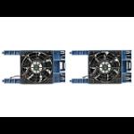 Hewlett Packard Enterprise HPE ML30 Gen10 PCI Fan and Baffle Kit Carcasa del ordenador Ventilador Negro, Azul
