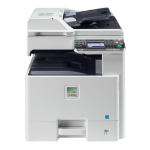 KYOCERA FS -C8520MFP 600 x 600DPI Laser A3 20ppm Grey,White multifunctional