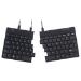 R-Go Tools R-Go Split Break Ergonomic Keyboard, QWERTY (US), black, wired