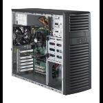 Supermicro SuperWorkstation 5039A-iL Midi-Tower Black Intel® C236 LGA 1151 (Socket H4)