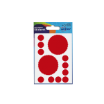 Avery Company Seal Labels Red (80 Labels) PK10