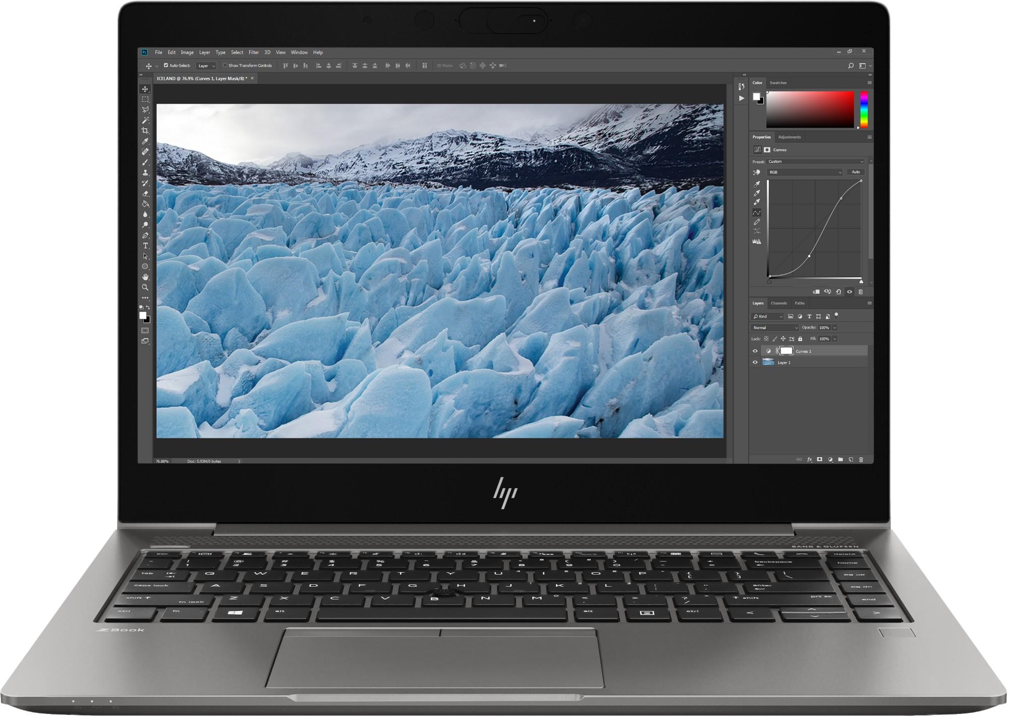 "HP ZBook 14u G6 Mobile workstation Silver 35.6 cm (14"") 1920 x 1080 pixels 8th gen Intel® Core™ i7 16 GB DDR4-SDRAM 256 GB SSD AMD Radeon Pro WX 3200 Wi-Fi 5 (802.11ac) Windows 10 Pro"