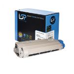 Click, Save & Print Remanufactured Oki 44059232 Black Toner Cartridge