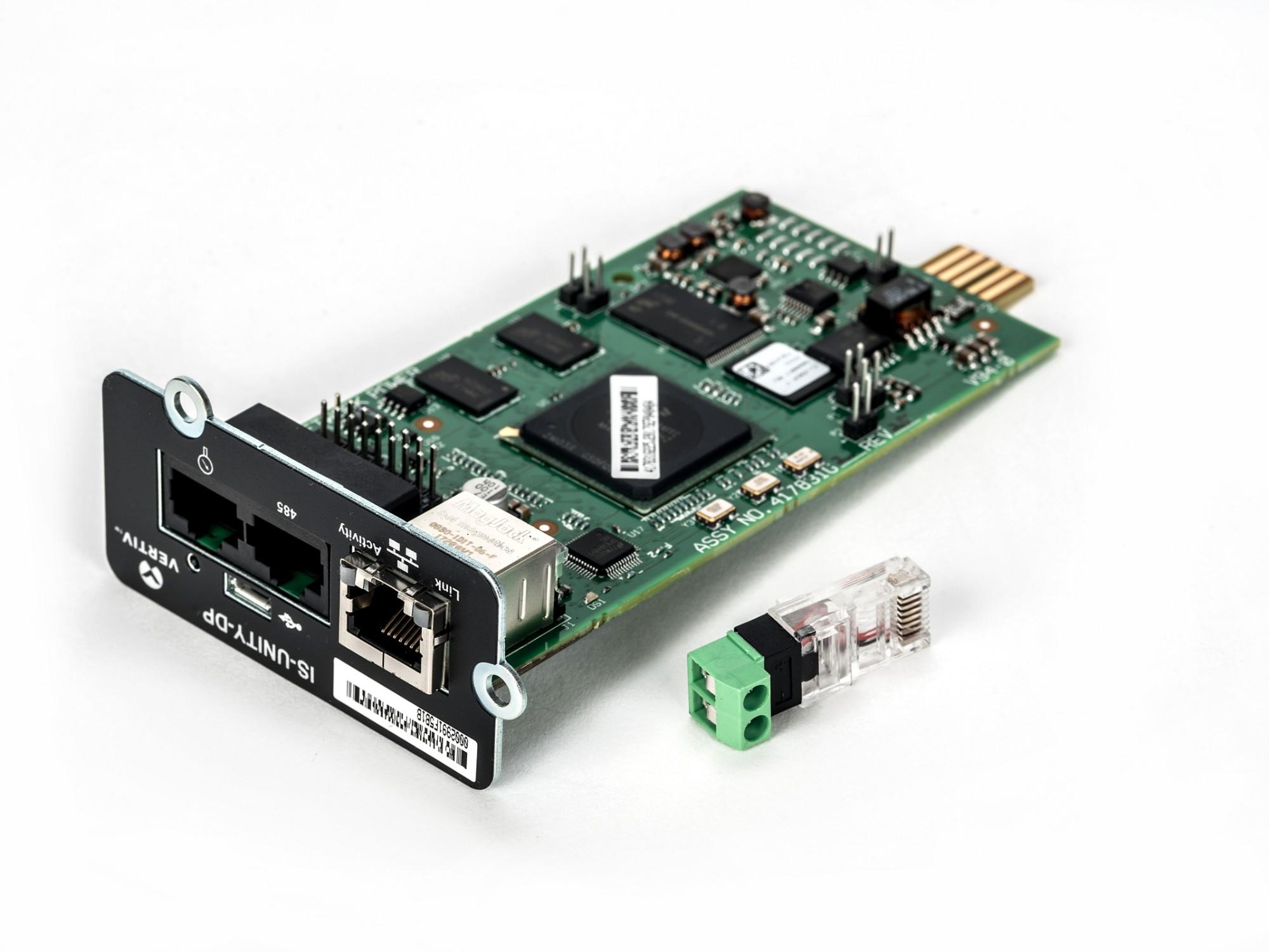 Vertiv Liebert IS-UNITY-DP networking card Ethernet 100 Mbit/s Internal