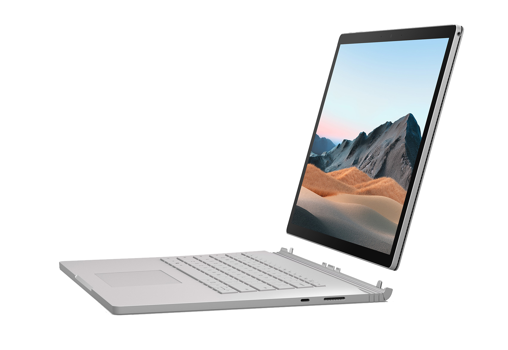 "Microsoft Surface Book 3 Híbrido (2-en-1) Platino 38,1 cm (15"") 3240 x 2160 Pixeles Pantalla táctil Intel® Core™ i7 de 10ma Generación 32 GB LPDDR4x-SDRAM 1000 GB SSD NVIDIA GeForce GTX 1660 Ti Max-Q Wi-Fi 6 (802.11ax) Windows 10 Pro"