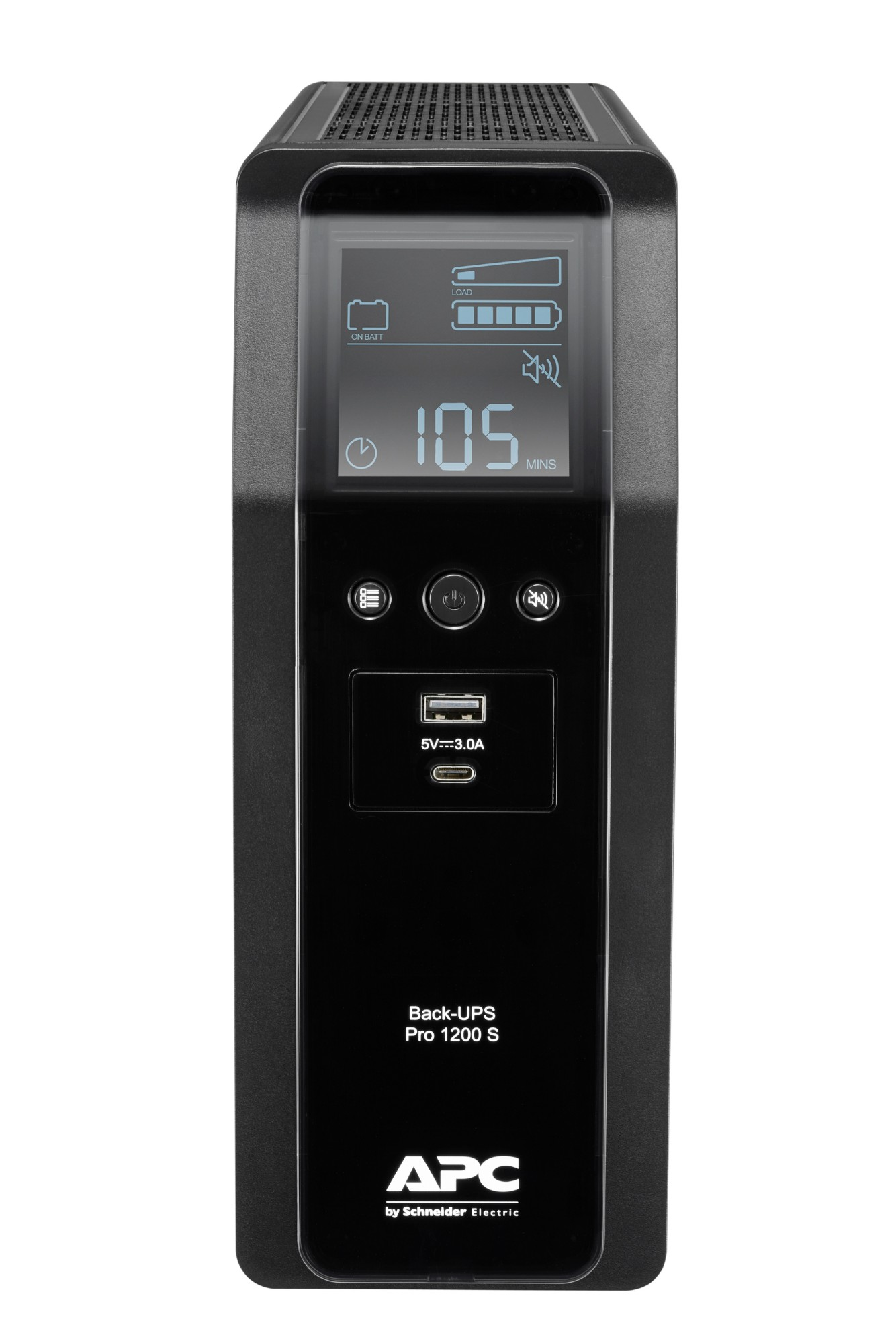 APC BACK UPS PRO BR 1200VA uninterruptible power supply (UPS) Line-Interactive 720 W 8 AC outlet(s)