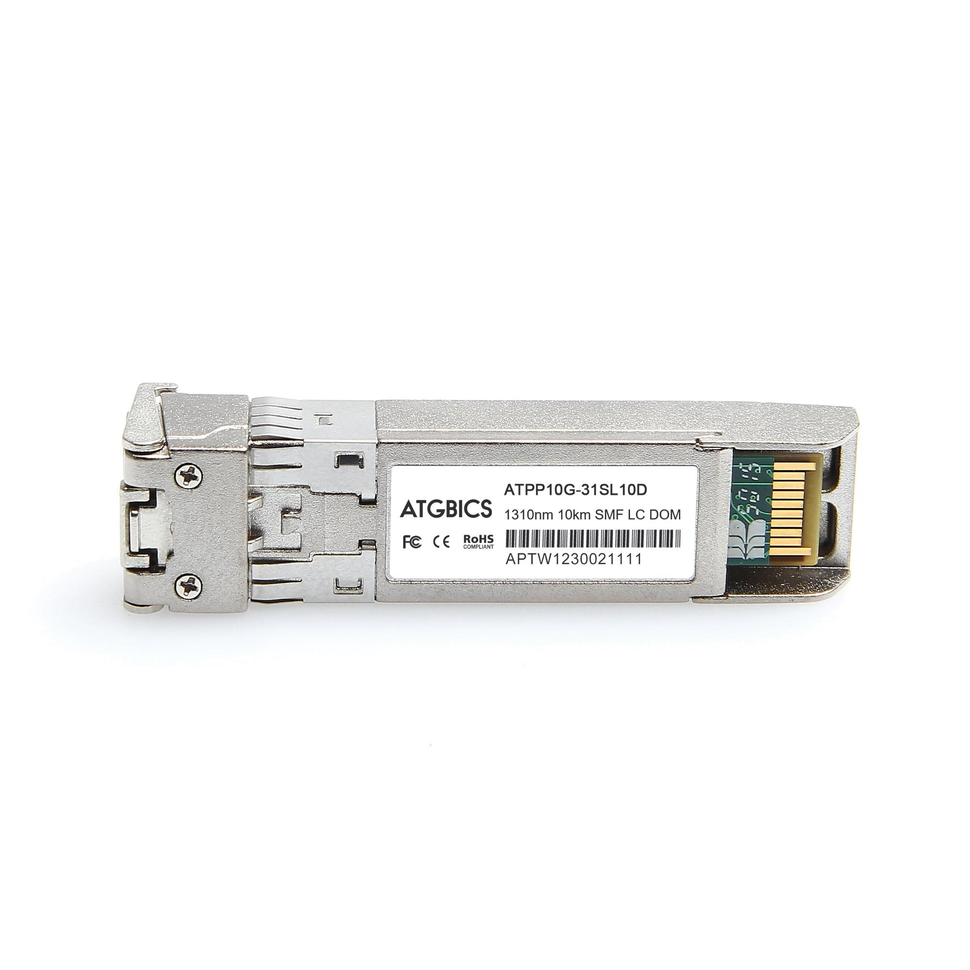 Image of ATGBICS XBR-000182-C network transceiver module Fiber optic 10000 Mbit/s SFP+ 1310 nm