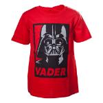 Star Wars Kids Unisex Darth Vader Framed Closeup T-Shirt, 158/164, Red (TSY19602STW-158/164)