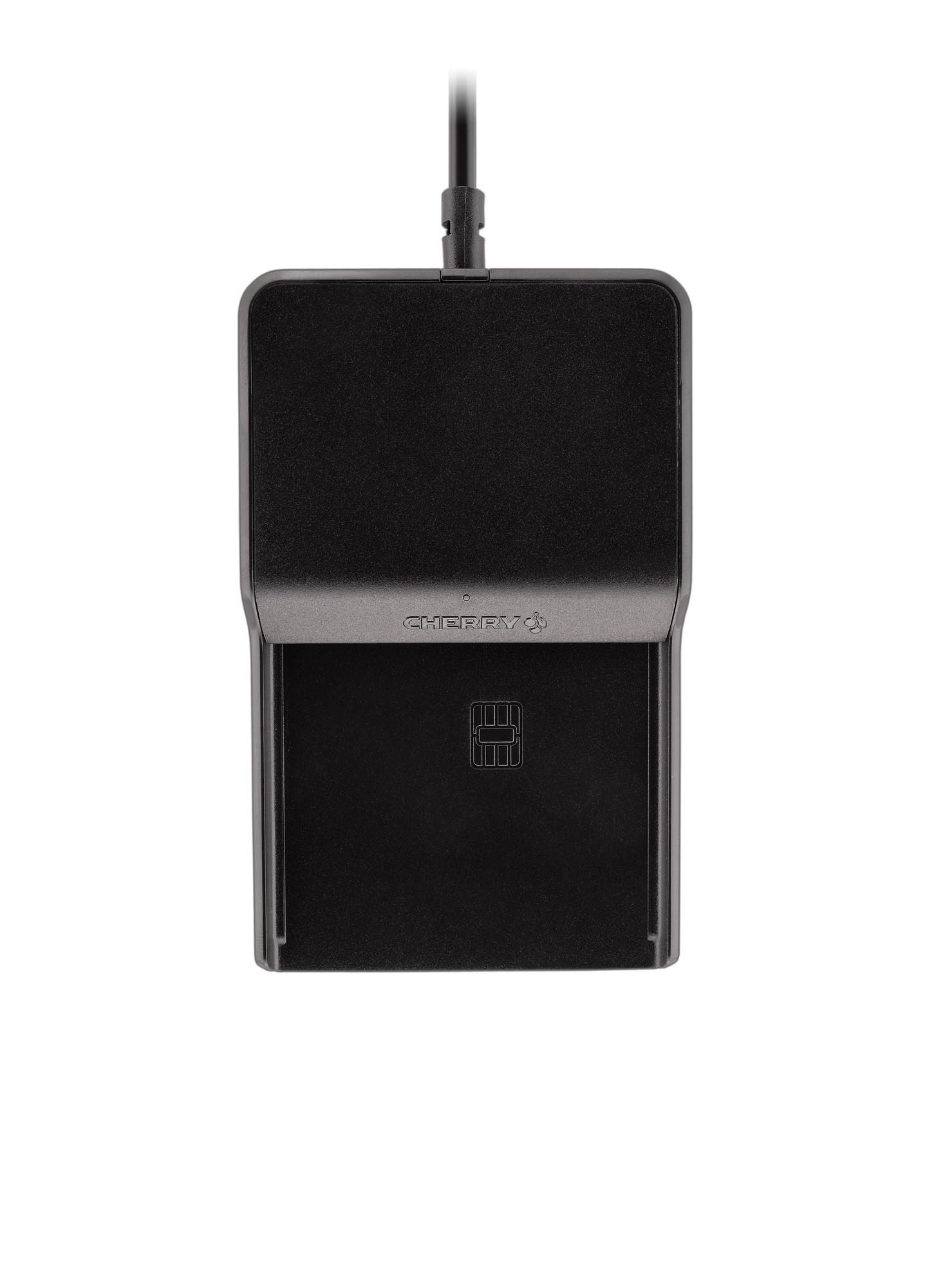 CHERRY TC 1100 Indoor USB 2.0 Black smart card reader