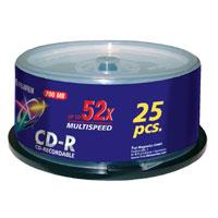 Fujifilm P10DCRCA14A blank CD CD-R 700 MB 25 pc(s)