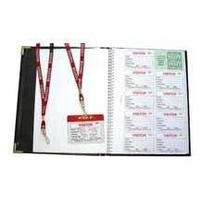 IDENT IBADGE VISITOR BOOK 100 INSERTS