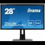 "iiyama ProLite B2888UHSU-B1 28"" 4K Ultra HD LED Black computer monitor LED display"