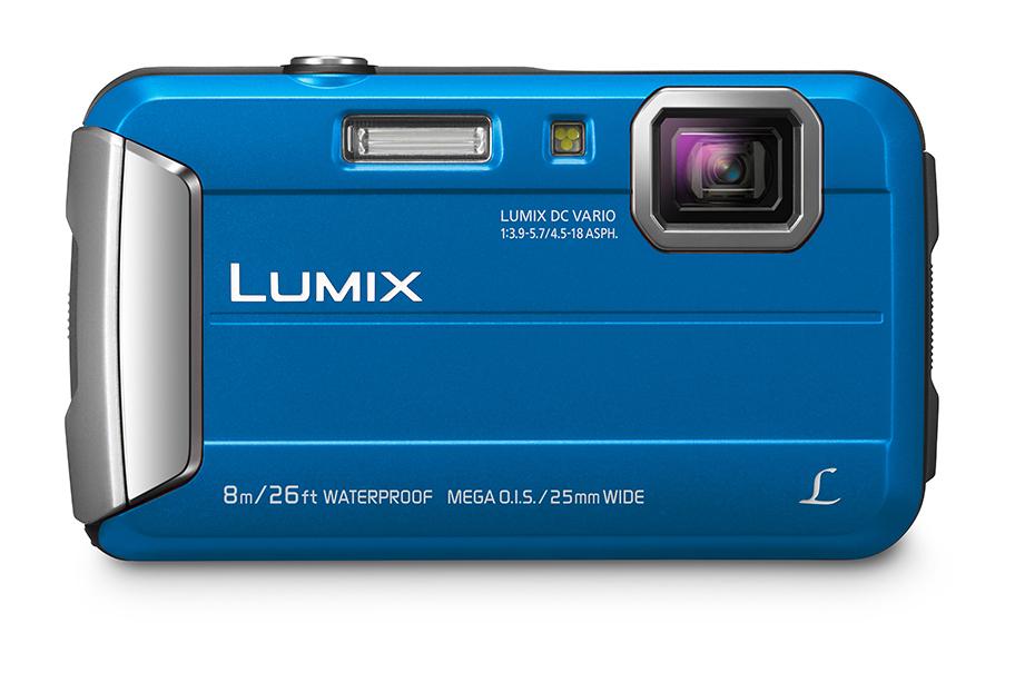 """Panasonic Lumix DMC-FT30 Compact camera 16.1MP 1/2.33"""" CCD 4608 x 3456pixels Blue"""
