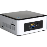 Wortmann AG TERRA MICRO 3000 SILENT GREENLINE 1.6GHz N3050 0.6L sized PC Black,Silver Mini PC
