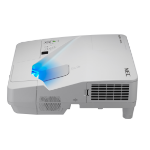 NEC UM301W Projector - 3000L - WXGA - UST Inc Wall Bracket