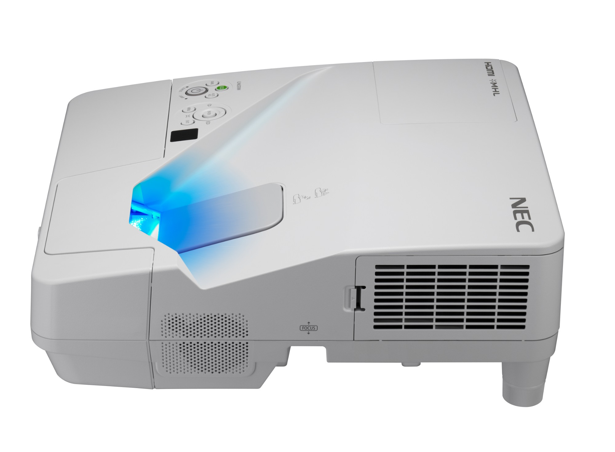 NEC UM301W 3000ANSI lumens 3LCD WXGA (1280x800) Desktop projector White