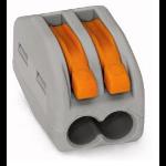 Wago 222-412 cable splitter/combiner Grey