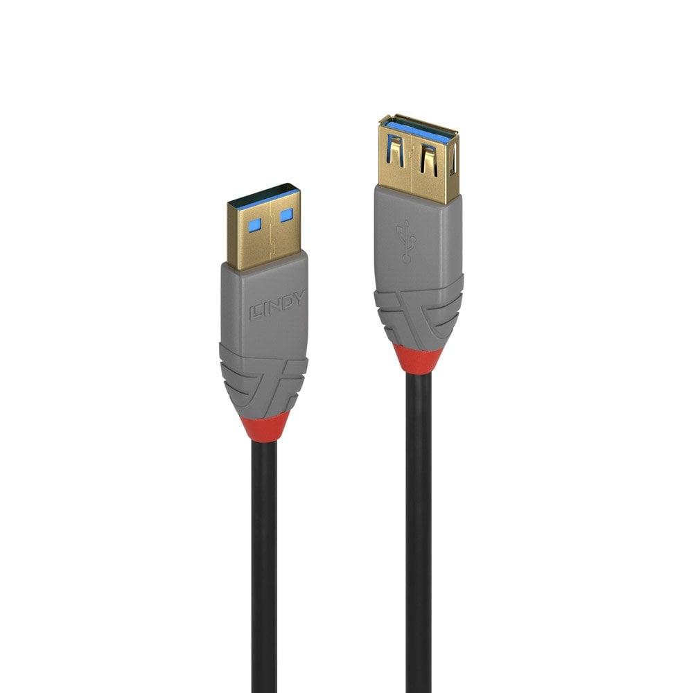 Lindy 36763 USB cable 3 m 3.2 Gen 1 (3.1 Gen 1) USB A Black