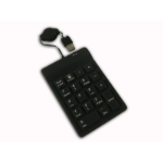 Adesso 18 Key Waterproof Key Pad USB Black