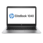 "HP EliteBook 1040 G3 Notebook Silver 35.6 cm (14"") 1920 x 1080 pixels 6th gen Intel® Core™ i7 8 GB DDR4-SDRAM 256 GB SSD Wi-Fi 5 (802.11ac) Windows 10 Pro"